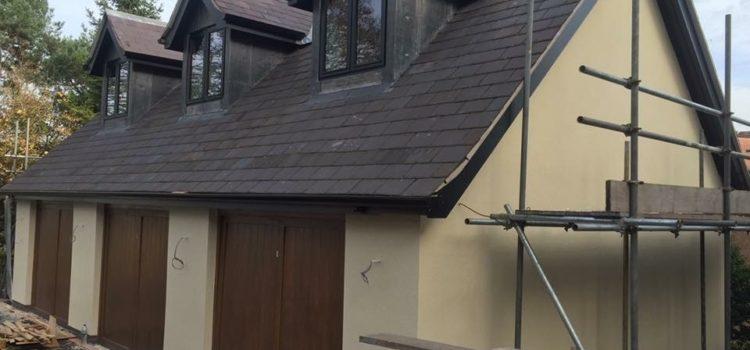 New roof for new build in Appleton