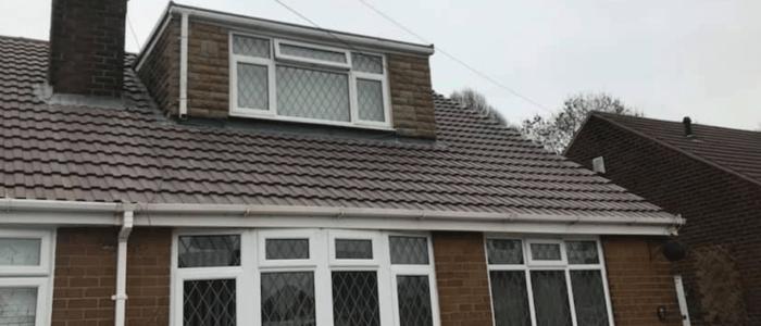 Roof replacement project, Stockton Heath, Warrington.