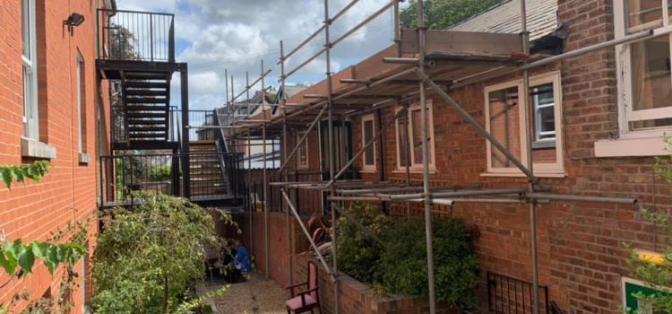 We now offer a full scaffolding service