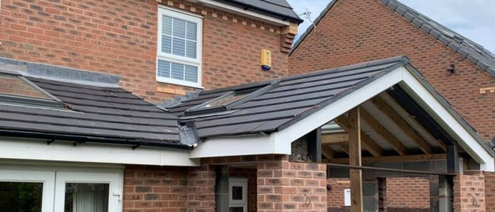 extension roof warrington