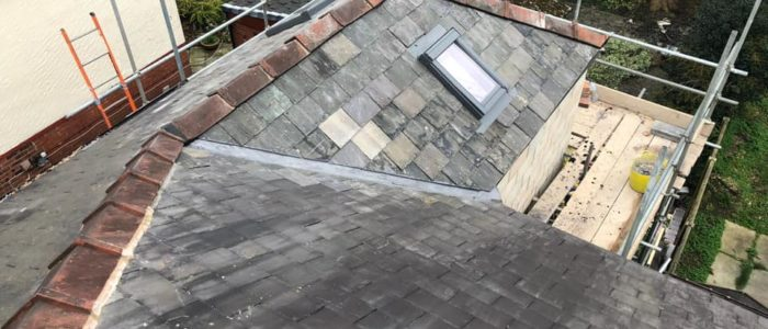 roof for small extension