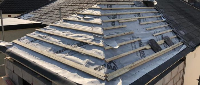 small extension roof