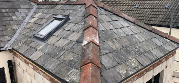 Roofing a small extension