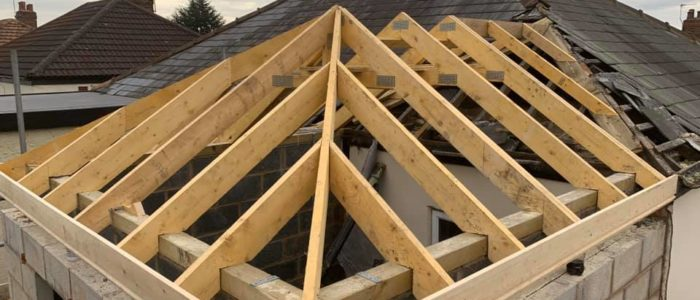 roof for small extension cheshire